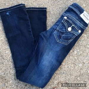 ❄️ express jeans low rise barely boot Stella jeans
